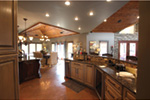 Contemporary House Plan Kitchen Photo 01 - Macedonian Escape Ranch Home 055D-0932   House Plans and More