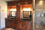 Contemporary House Plan Master Bathroom Photo 01 - Macedonian Escape Ranch Home 055D-0932   House Plans and More