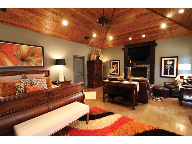 Contemporary House Plan Master Bedroom Photo 01 - Macedonian Escape Ranch Home 055D-0932   House Plans and More