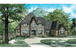 Luxury House Plan Front of House 055D-0934