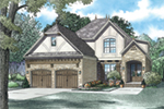 Rustic Home Plan Front of House 055D-0938