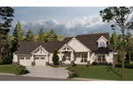 Lake House Plan Front of House 055D-0940