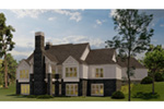 Arts & Crafts House Plan Rear Photo 01 - Blueridge Overlook Rustic Home 055D-0940 | House Plans and More