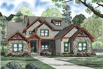 Mountain Home Plan Front of House 055D-0954