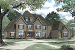 Southern House Plan Front Image - Abbeyhaven Luxury Home 055D-0955 | House Plans and More