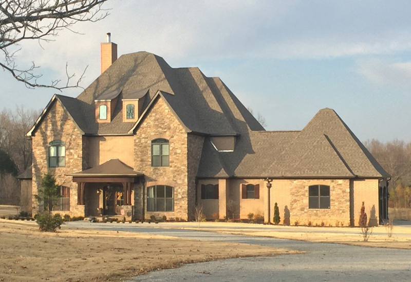 Southern House Plan Front of Home - Abbeyhaven Luxury Home 055D-0955 | House Plans and More