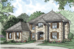 Luxury House Plan Front of House 055D-0956