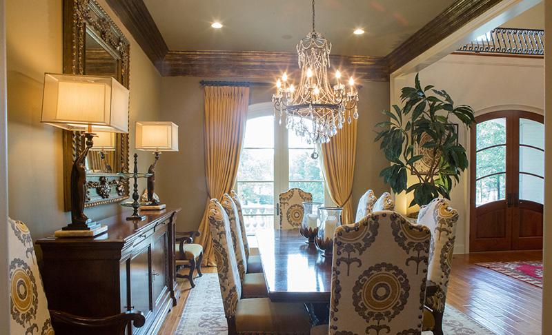 European House Plan Dining Room Photo 01 - Carminda Luxury European Home 055D-0957 | House Plans and More