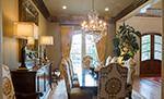 European House Plan Dining Room Photo 03 - Carminda Luxury European Home 055D-0957 | House Plans and More
