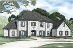 European House Plan Front Image - Carminda Luxury European Home 055D-0957 | House Plans and More