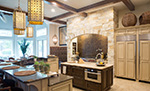 European House Plan Kitchen Photo 01 - Carminda Luxury European Home 055D-0957 | House Plans and More