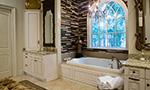 European House Plan Master Bathroom Photo 03 - Carminda Luxury European Home 055D-0957 | House Plans and More