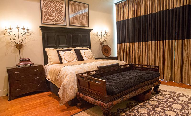 European House Plan Master Bedroom Photo 01 - Carminda Luxury European Home 055D-0957 | House Plans and More
