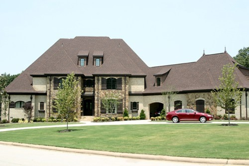 Luxury House Plan Front of Home - Harcourt Manor Luxury Home 055D-0968 | House Plans and More