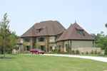 European House Plan Front Photo 01 - Harcourt Manor Luxury Home 055D-0968 | House Plans and More