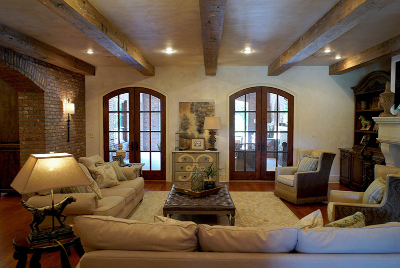 Traditional House Plan Great Room Photo 01 - Lombardo Luxury European Home 055D-0978 | House Plans and More