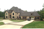 Luxury House Plan Front of Home - Prentiss European Luxury Home 055D-0982 | House Plans and More