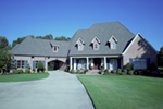 Country House Plan Front of Home - Glengarrie Luxury Home 055D-0983 | House Plans and More