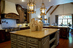 Country House Plan Kitchen Photo 04 - Glengarrie Luxury Home 055D-0983 | House Plans and More