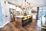 Southern House Plan Kitchen Photo 02 - Casey Grove Craftsman Home 055D-0990 | House Plans and More
