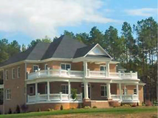 Weldon Manor Greek Revival Home Plan