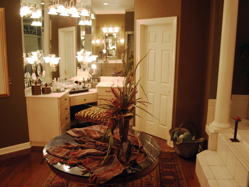Country French House Plan Bathroom Photo 01 - Patricia Luxury Home 055S-0027   House Plans and More