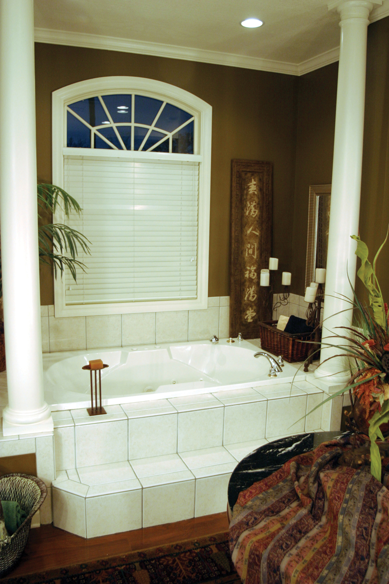 Country French House Plan Bathroom Photo 02 - Patricia Luxury Home 055S-0027   House Plans and More