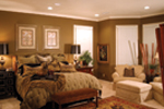 Country French House Plan Bedroom Photo 01 - Patricia Luxury Home 055S-0027   House Plans and More