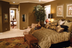 Country French House Plan Bedroom Photo 03 - Patricia Luxury Home 055S-0027   House Plans and More