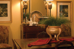Country French House Plan Dining Room Photo 01 - Patricia Luxury Home 055S-0027   House Plans and More