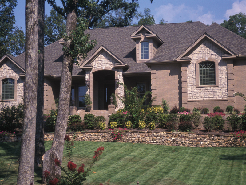 Country French House Plan Front Photo 01 - Patricia Luxury Home 055S-0027   House Plans and More
