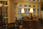 Country French House Plan Great Room Photo 03 - Patricia Luxury Home 055S-0027   House Plans and More