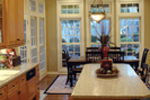 Country French House Plan Kitchen Photo 01 - Patricia Luxury Home 055S-0027   House Plans and More