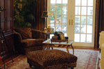 Country French House Plan Living Room Photo 01 - Patricia Luxury Home 055S-0027   House Plans and More