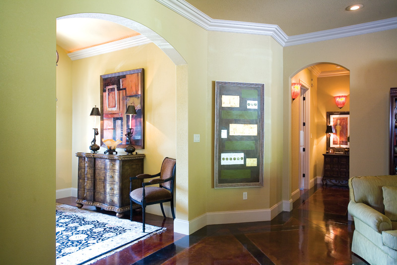 Traditional House Plan Foyer Photo - Glenvalley Luxury Home 055S-0036 | House Plans and More