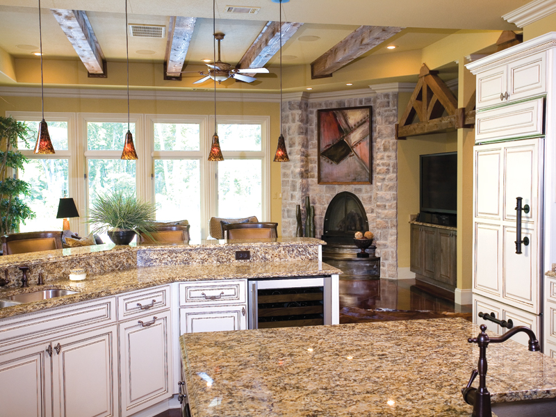 Traditional House Plan Kitchen Photo 01 - Glenvalley Luxury Home 055S-0036 | House Plans and More