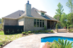 Traditional House Plan Rear Photo 01 - Glenvalley Luxury Home 055S-0036 | House Plans and More
