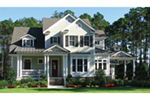 Florida House Plan Front of Home - 056D-0088 | House Plans and More