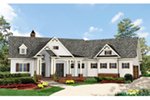 Traditional House Plan Front of House 056D-0090