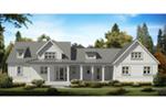 Farmhouse Plan Front of House 056D-0091