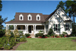 Southern House Plan Front of House 056D-0093