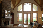 Arts & Crafts House Plan Great Room Photo 01 - 056D-0118 | House Plans and More