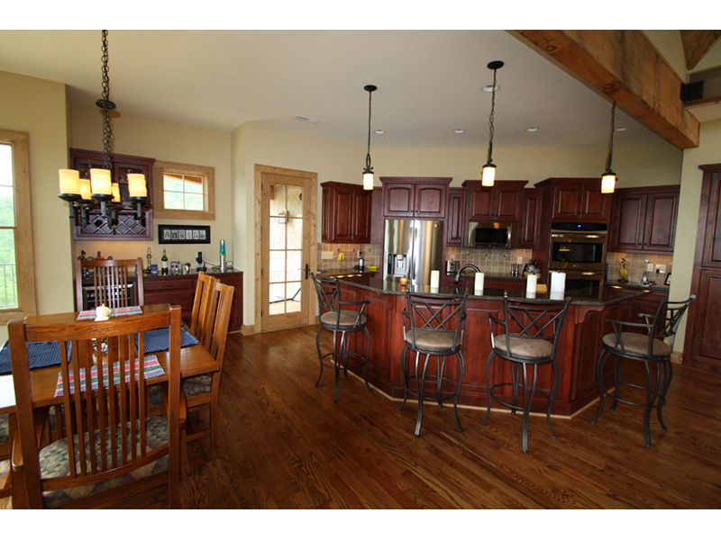 Arts & Crafts House Plan Kitchen Photo 01 - 056D-0118 | House Plans and More