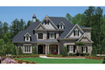 Traditional House Plan Front of House 056S-0001