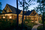 Ranch House Plan Front of House 056S-0002