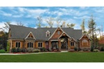 Ranch House Plan Front of House 056S-0004