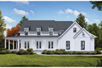 Modern House Plan Front of House 056S-0005