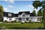Beach & Coastal House Plan Front of House 056S-0007