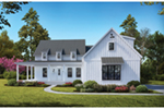 Modern Farmhouse Plan Front of House 056S-0008
