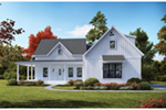 Modern House Plan Front of House 056S-0009